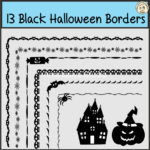 This zip file contains 13 designs in PNG format. Each border comes in 8.5x11 sizes to suit both portrait documents. They can be added to any document and resized/reshaped as needed.  High quality graphics, 300 dpi. You may use these images for commercial use, including use in your TeachersPayTeachers products.