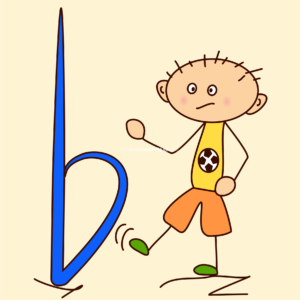 Kids with Music Notes and Symbols Doodle Clipart #1