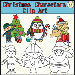christmas-charactars-clipart-cover2