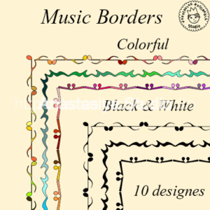 Music-Borders--set-1-2