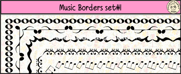 Music Borders (set-1)