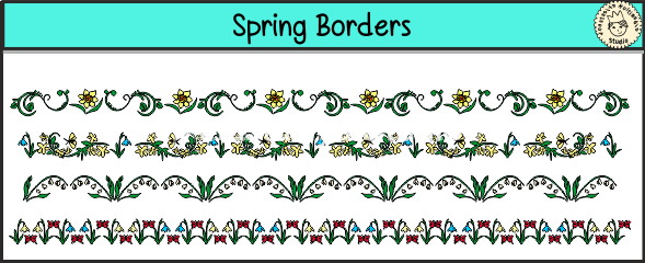 Spring Borders