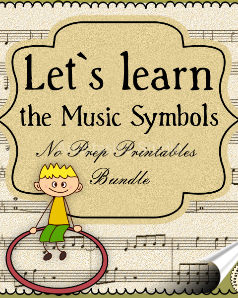 This NO PREP Bundle contains 50 pages of music coloring and tracing activities.
