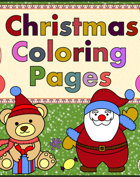 my new christmas coloring set includes 14 different christmas coloring worksheets