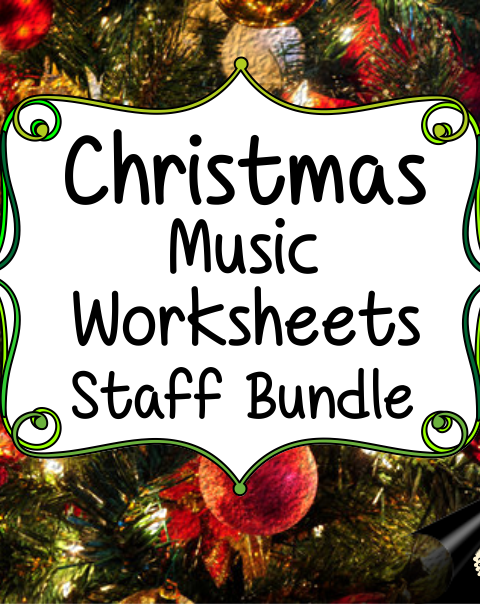 This set of 44 Christmas themed music worksheets is designed to help your students practice identifying and notating lines and spaces in Treble and Bass clefs.
