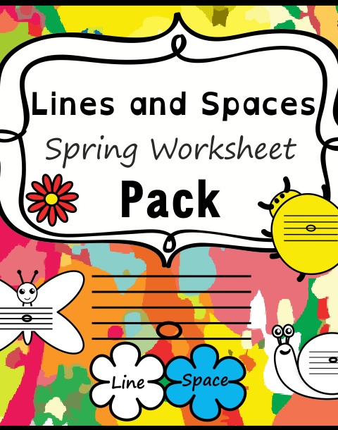 This set of 20 spring themed worksheets is designed to help your students practice identifying whether a pitch is on a line or in a space and practice high/low pitches. All activities require no preparation.