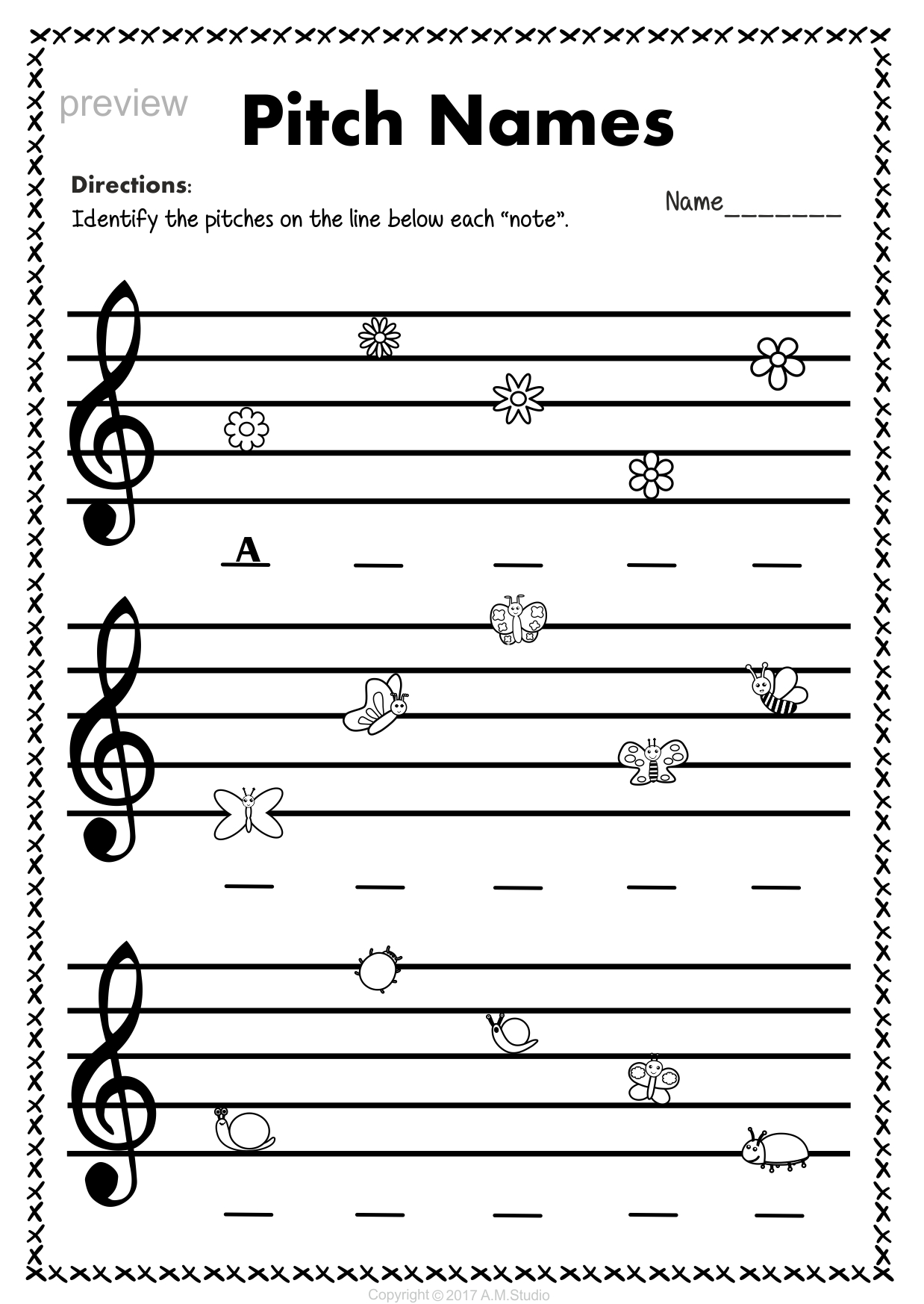Worksheets Treble Clef Worksheets treble clef note naming worksheets for spring5 anastasiya spring