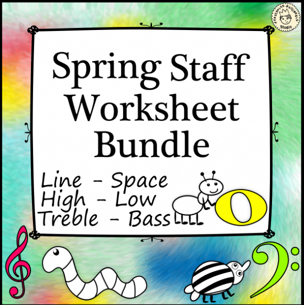 Spring Staff Worksheet Bundle