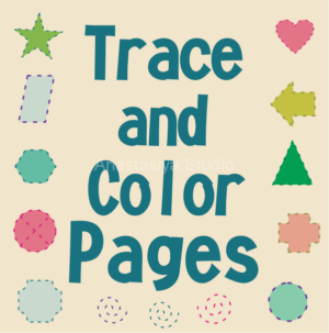 Trace and Color Pages