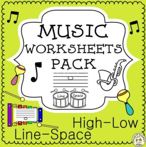 No Prep Music Worksheets Bundle