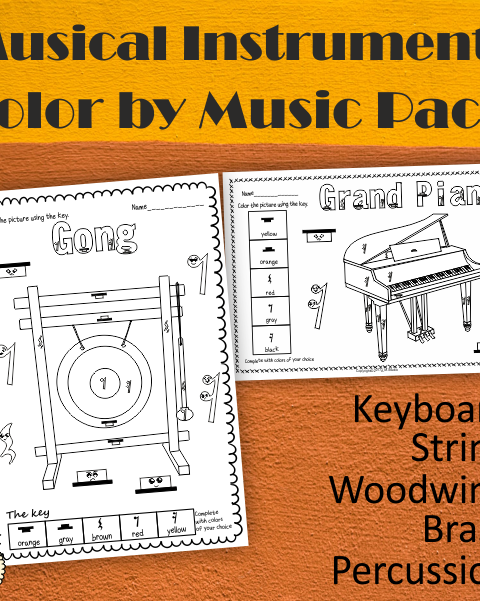 This set contains 55 designs of Instruments in 3 different formats (165 pages in total):