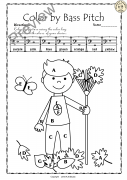 Bass Clef Note Naming Worksheets for Fall