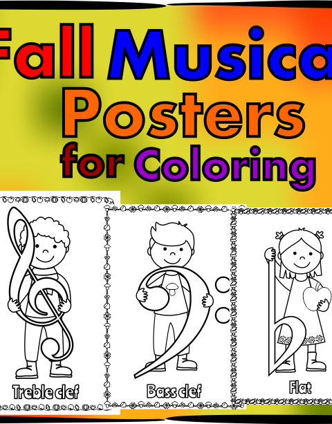 Let your kids decorate your classroom with these music symbol signs!