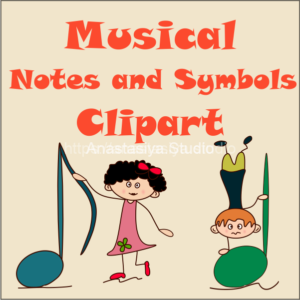 Music Notes Cliparts