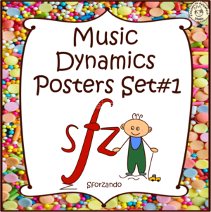 Music Dynamics Posters set #1