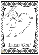 Music Symbols Posters for Coloring set #1