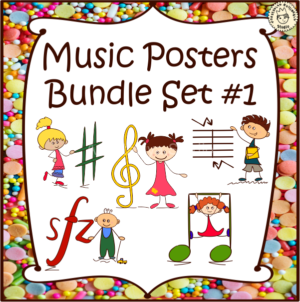 Music s Posters Bundle set #1