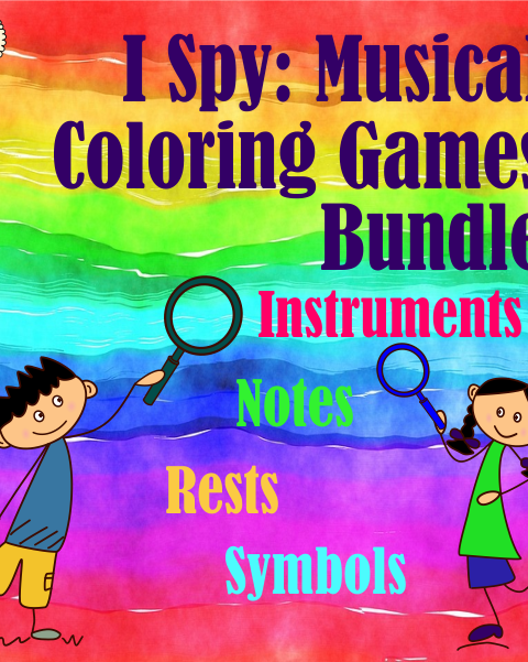 This bundle containes more than 140 pages of music activities for kids.