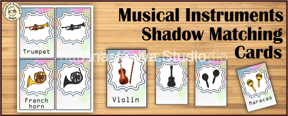 Musical-Instruments-Shadow-Matching-Cards