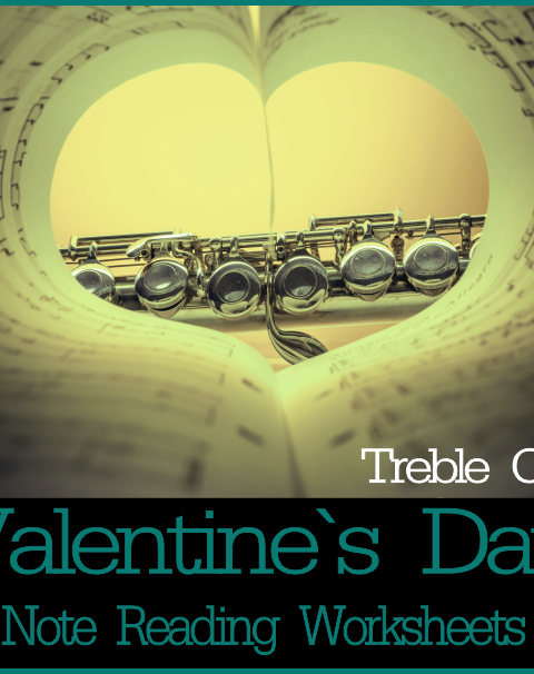 This set of 12 Music worksheets Valentine`s day themed is designed to help your students practice identifying Treble pitch.