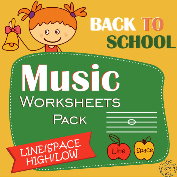 Back to School Music Worksheets Pack