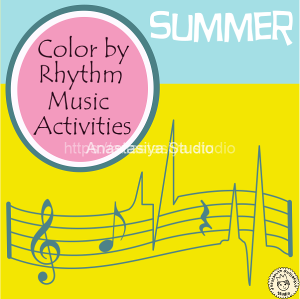 Summer Color by Rhythm Music Activities