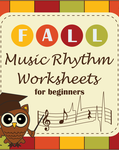 This Fall Music Rhythm set is designed to strengthen student's music notes and rests recognition and become better rhythm counters. These worksheets focus on note and rest length, printing practice, music math, bar lines, time signatures, composing rhythms and much more.